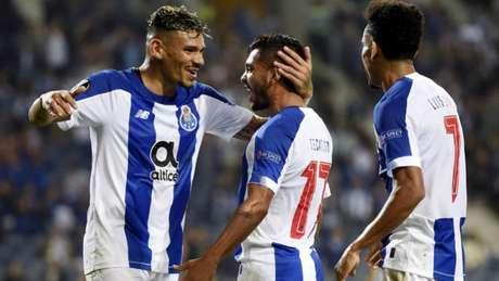 Porto lidera o Campeonato Português com 21 pontos (AFP)