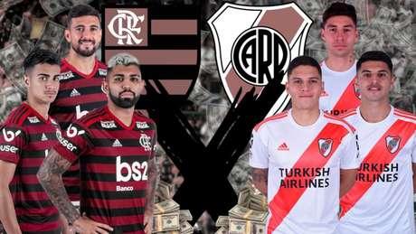 Decisão da Copa Libertadores está programada para o Chile: no dia 23 de novembro (Arte: Marcelo Moraes/Lance!)