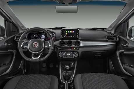 Painel do Fiat Cronos Drive 1.3.