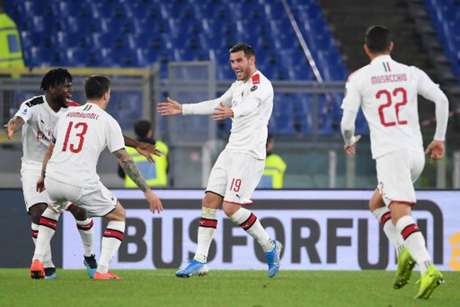 Milan joga nesta quinta-feira contra o SPAL pelo Campeonato Italiano (ANDREAS SOLARO/AFP)