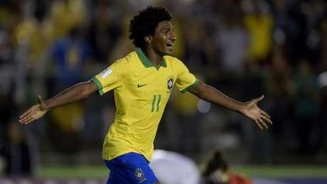 Talles marcou o segundo gol do Brasil na partida (Alexandre Loureiro/CBF)