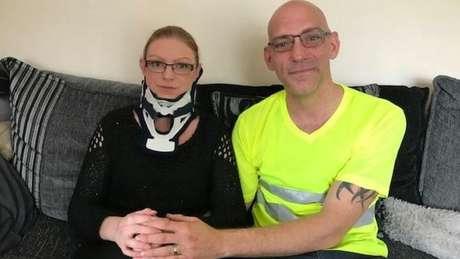 Rachel Pighills e seu marido Guy planeja ir a Barcelona para que ela possa ser operada
