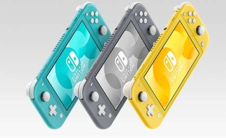 Nintendo apresenta o Switch Lite