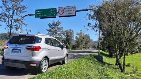 Uma das estradas que levam a Gramado, Canela e Caxias do Sul.