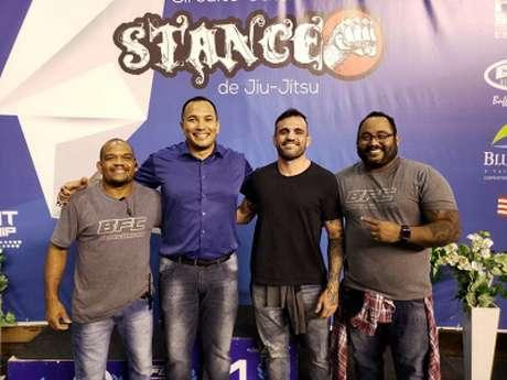 Da esquerda para a direita: Marcos Cunha, Rui Godinho, Ricardo Tirloni e Cristiano Dick (Foto: Divulgação)