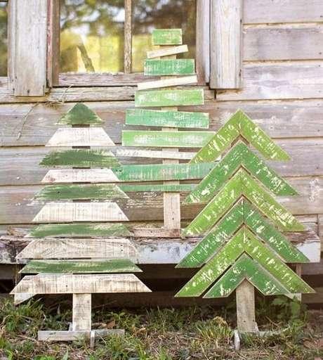 26. Enfeites para jardim com a temática natalina. Fonte: Casa e Jardim