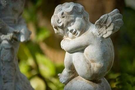 73. Enfeites para jardim em cimento. Fonte: Pinterest