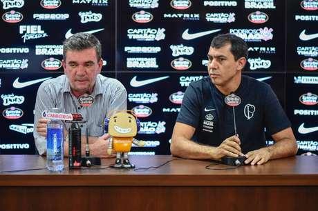 O Corinthians pode ter um custo superior a R$ 10 milhões com Fábio Carille em menos de um ano, se optar pela demissão do técnico (Foto: Fernando Dantas/Gazeta Press)