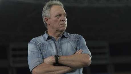 """Abelão também defendeu o Cruzeiro quando questionado sobre """"cera"""" do time mineiro no Rio- (Marcello Dias/Light Press/Cruzeiro)"""