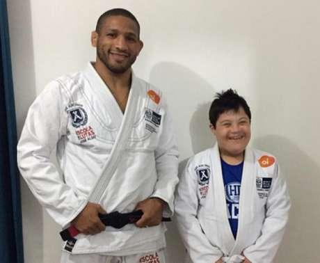 Hacran Dias reafirmou a importância da prática das artes marciais (Foto: Karen Terahata)