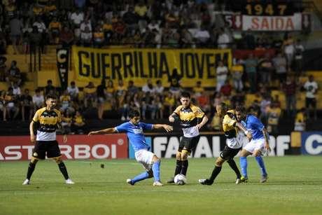 Criciúma e São Bento ficaram no 1 a 1 (Foto: Caio Marcelo/CEC)