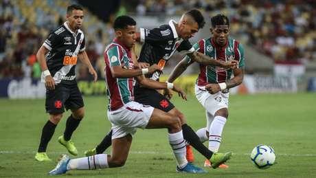 Vasco e Fluminense ficaram no 0 a 0 no Maracanã (Foto: Lucas Merçon/FFC)