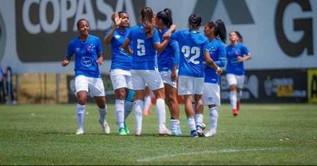 As meninas celestes tentam vencer outro clássico estadual após superar o Galo na rodada passada- (Divulgação/Cruzeiro)