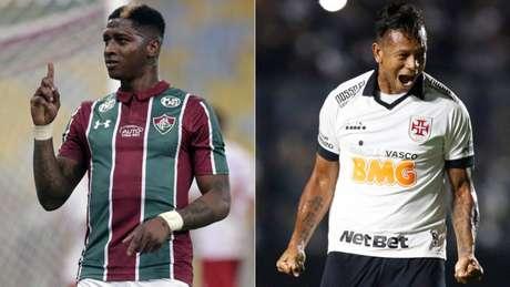 Yony e Guarín são esperança de gol no clássico (Foto: Divulgação)