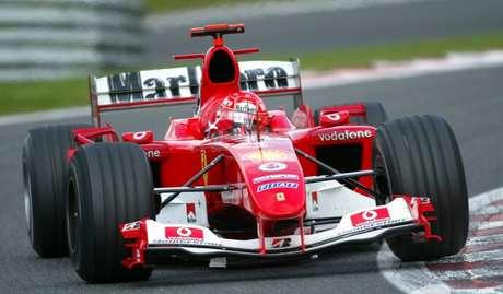 Schumacher: mesmo considerando somente as primeiras 161 corridas, o alemão tem números melhores que Senna.