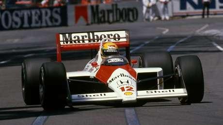 Senna: três campeonatos mundiais, 41 vitórias, dois vices, 65 poles e 80 pódios em 161 GPs disputados.