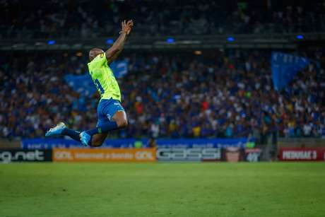 Sassá garantiu o empate ao Cruzeiro (Foto: Vinnicius Silva/Cruzeiro)