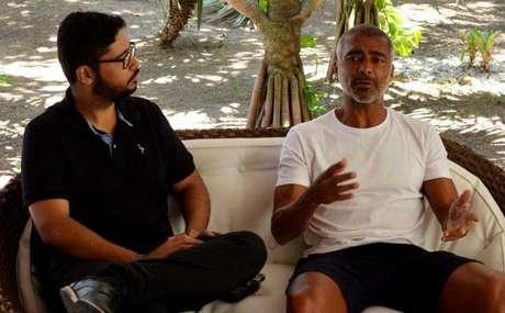 Em entrevista exclusiva ao LANCE!, Romário fez duras críticas à CBF | Foto: Gabriel Grey / Lancepress