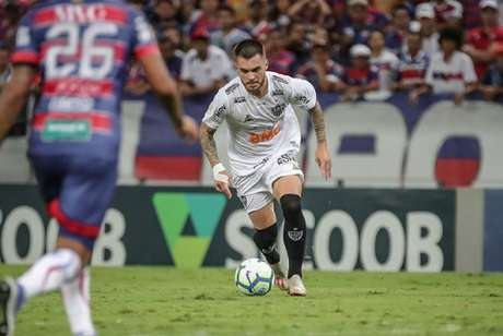 Nathan deixou o campo com dores e pode ser problema para o Galo- (Bruno Cantini/Atlético-MG)