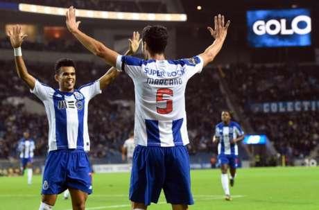 Gol de Marcano foi o único na noite de domingo em Porto (MIGUEL RIOPA / AFP)