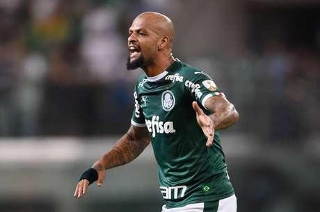 Palmeiras, de Felipe Melo, deixou escapar o sonho de um novo título da Copa do Brasil, eliminado pelo CBR-AL. (Foto:Djalma Vassão/Gazeta Press)