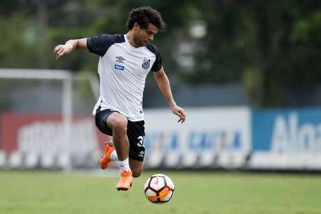 Victor Ferraz desfalcou o Santos nas últimas duas rodadas (Foto: Ivan Storti/Santos)