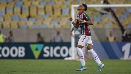 Marcos Paulo deseja ser liberado de Portugal para ajudar o Fluminense (Foto: Lucas Merçon/Fluminense)