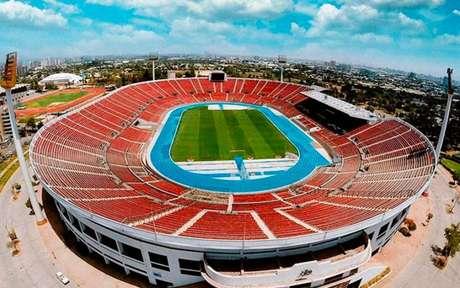 Estádio Nacional de Santiago, até o momento, palco da decisão entre Flamengo e River (Foto: Conmebol/Divulgação)