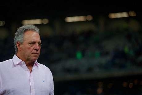 Abel Braga reclamou muito da arbitragem de campo e do VAR no duelo da Raposa com  o Bahia- (Vinnicius Silva/Cruzeiro)