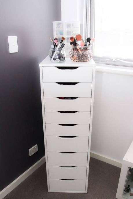 12. Gaveteiro organizador para quarto pequeno – Por: Ikea
