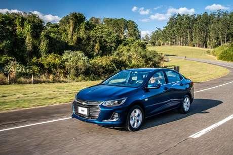 Chevrolet Onix Plus: liderança entre os sedãs.