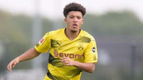 Jadon Sancho é um dos destaques do Borussia Dortmund (Foto: Reprodução)