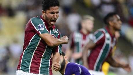 Igor Julião desfalcou o Flu contra o Vasco por conta de dores musculares (Foto: Celso Pupo/Fotoarena)