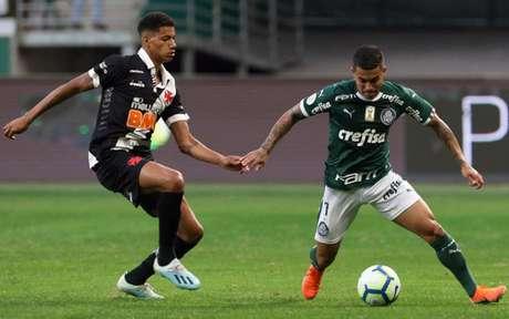 No primeiro turno, Vasco e Palmeiras empataram em 1 a 1 em São Paulo (Foto: Divulgação/ Palmeiras)