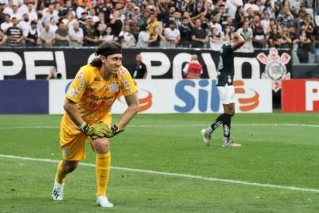 Goleiro Cássio desfalca o Corinthians contra o Fortaleza (Foto: Peter Leone/O Fotográfico/Lancepress!)