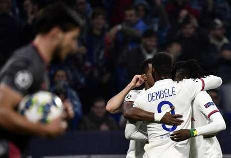 Lyon venceu em casa (Foto: AFP)