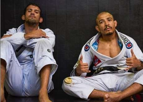 Léo Santos também falou sobre a estreia de José Aldo na categoria peso-galo (Foto: Reprodução/Instagram)