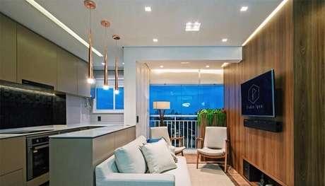 12. As poltronas para sala de tv complementam a decoração do espaço. Fonte: Pinterest