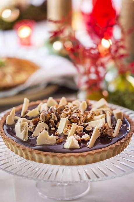 51. Torta de chocolate para ceia de ano novo – Por: Cuecas na Cozinha