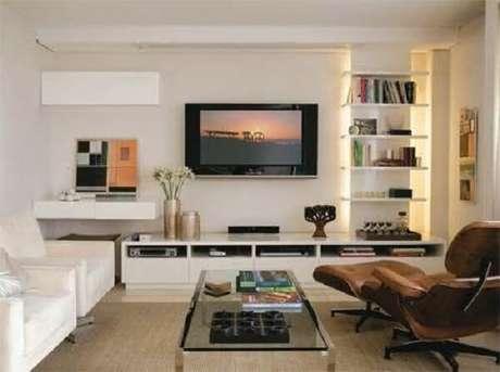 22. Poltronas confortáveis para sala de tv. Fonte: Pinterest