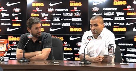 Emerson Sheik se despediu ao lado de Duílio Monteiro Alves (Reprodução)