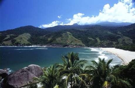 Praia do Bonete, em Ilhabela, é considerada uma das mais bonitas do Brasil