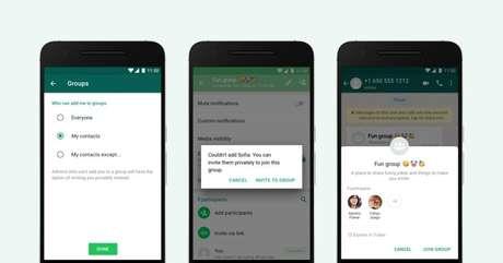 WhatsApp cria ferramenta que bloqueia desconhecidos de colocar pessoas em grupos