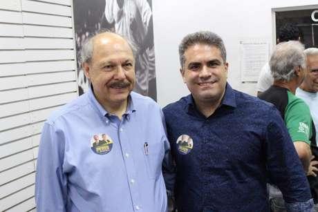 Vice-presidente Orlando Rollo (à direita) está afastado do cargo deste janeiro (Foto: E5+ Comunicação/ Divulgação)