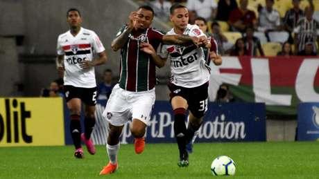 Fluminense e São Paulo se enfrentaram no primeiro turno do Brasileirão (Foto: Mailson Santana/Fluminense)