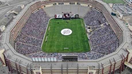O Estádio Monumental de Lima é o de maior capacidade na América do Sul (Foto: Divulgação)