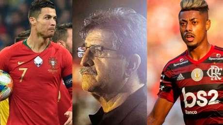 René Simões comparou atacantes e detalhou análise (AFP; Eduardo Valente/LANCE!Press; Marcelo Goncalves/Photo)