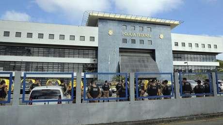 O ex-presidente Luiz Inácio Lula da Silva está preso em um prédio da Polícia Federal em Curitiba