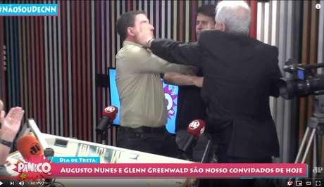 Augusto Nunes e Glenn brigam ao vivo