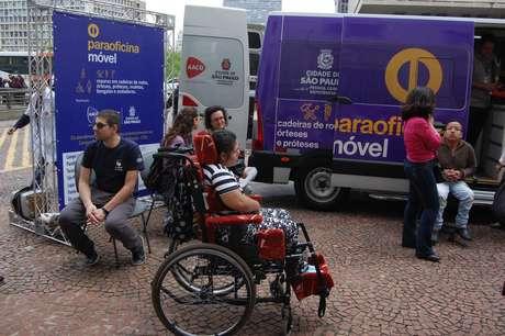 Lançamento do projeto Paraoficina Móvel ocorreu no dia 7, no Viaduto do Chá, São Paulo